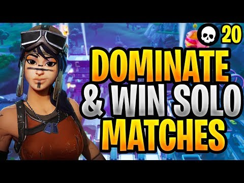 How To DOMINATE & WIN Solo Matches In Fortnite! (Fortnite How To Win Solo - Season 9)