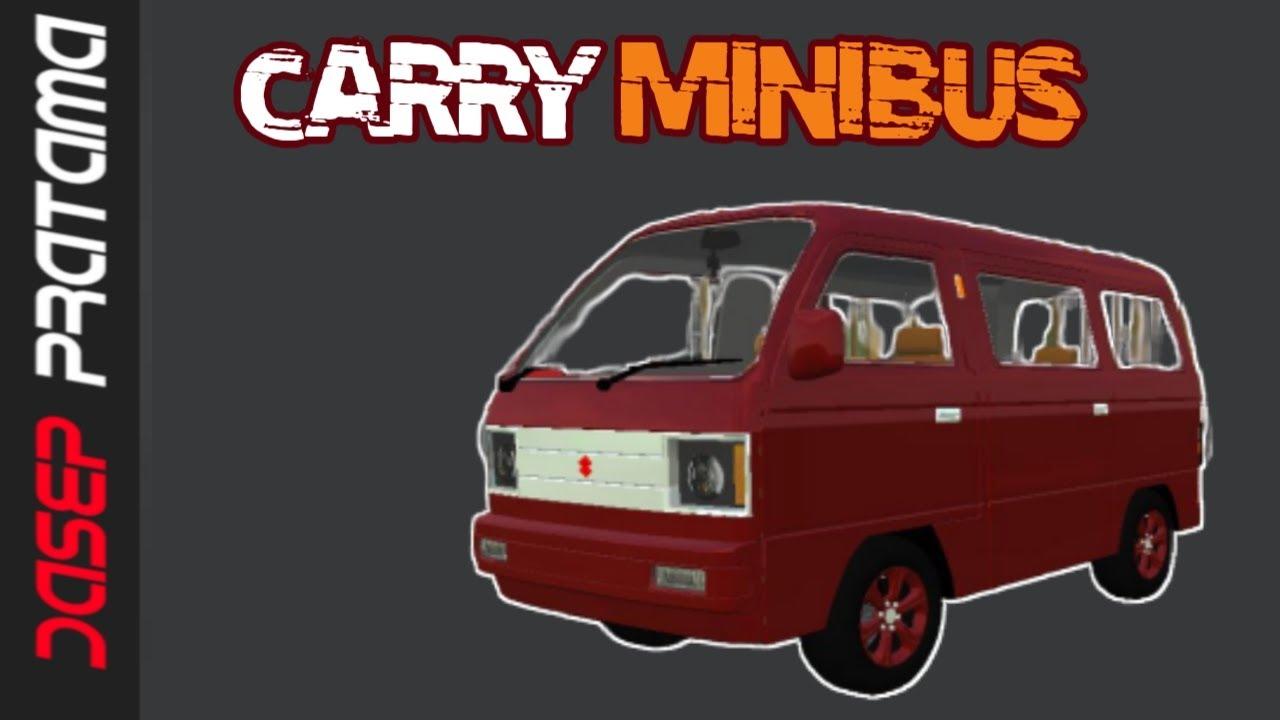 7800 Mod Mobil Carry Bussid Terbaru