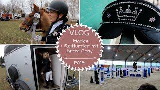 Maries 1. Turnier |Führzügelwettbewerb |VLOG |Kathis Daily Life