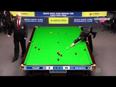 Snooker.Lisbon Open 2014. J. TRUMP-T. UN-NOOH. FR4