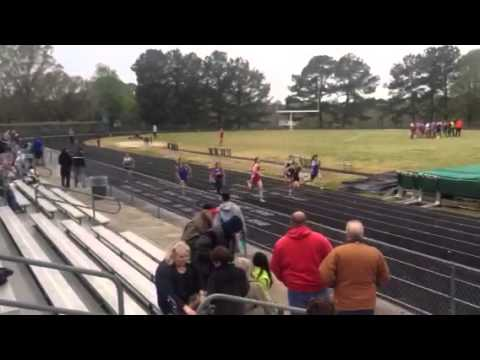 Central Private School Track 100m Reagan Baggett 4/4/2913