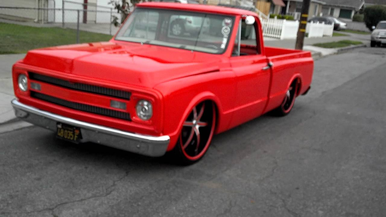 All Chevy 74 chevy short bed : Chevy c10 on 26s - YouTube