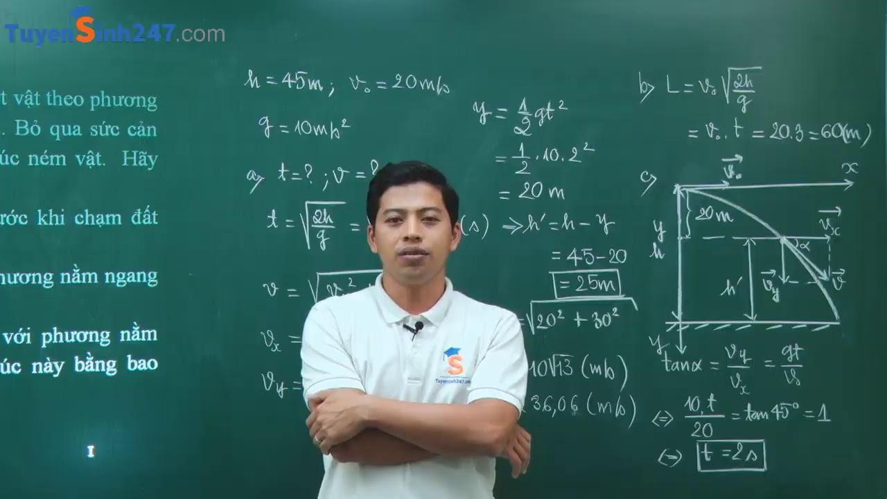Ôn tập học kì 1 – Vật Lí 10 – Giáo viên : Phạm Quốc Toản