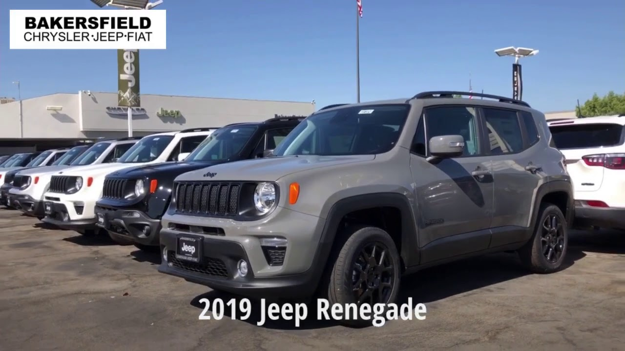 Bakersfield Auto Mall >> Bakersfield Chrysler Jeep Fiat 2019 Jeep Renegade Youtube