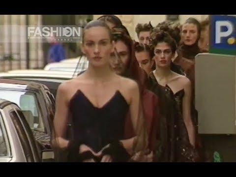ROMEO GIGLI Spring Summer 1991 Milan   Fashion Channel