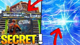 A SECRET PORTAL TO LONELY LODGE AFTER THE FUSÉE LANCEMENT on FORTNITE!