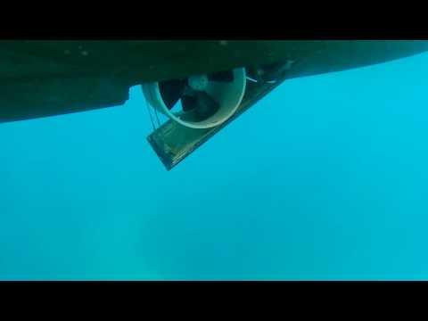 Hanse 575 bow thruster