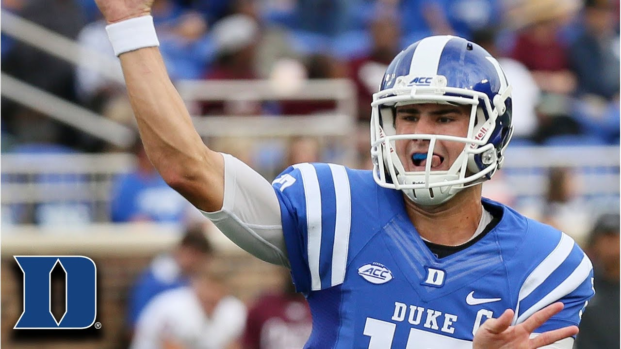 db5a466da70 Duke QB Daniel Jones  413 Total Yards