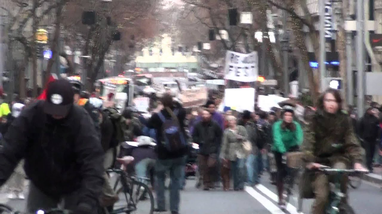 Portland Re Occupy Pt 14 Youtube
