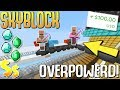 ULTIMATE Robots Make SOO Much MONEY! + Worth $100 IRL! (Minecraft Skyblock) #30