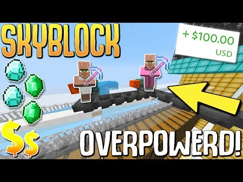 Download Youtube: ULTIMATE Robots Make SOO Much MONEY! + Worth $100 IRL! (Minecraft Skyblock) #30