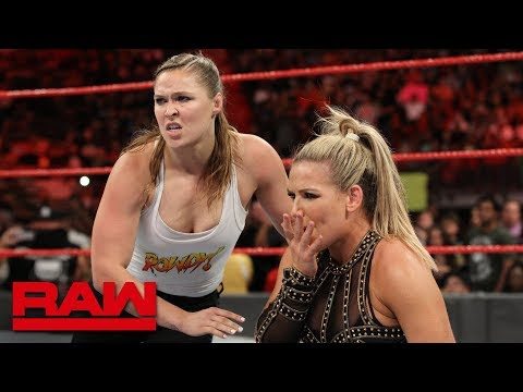 Returning Ronda Rousey brawls with Alicia Fox and Alexa Bliss: Raw, July 30, 2018