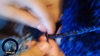 Плетение косичек (зи зи)