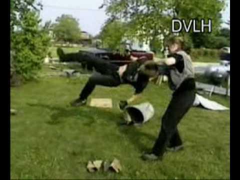 Luke Hadley in the Backyard Wrestling Video Game