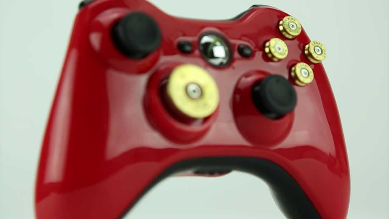Build Your Own Controller Xbox 360 Modded Controllers Controller Chaos Youtube