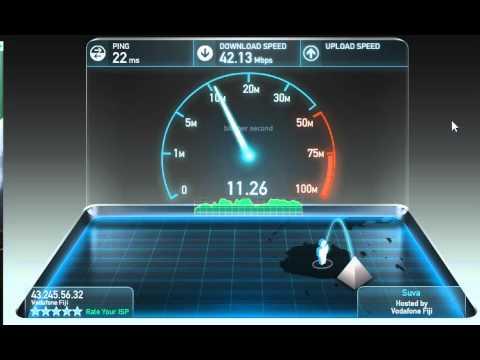 Vodafone Internet Speedtest