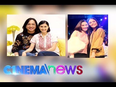 Marian Rivera reconciles with Lovi Poe and former manager Popoy Caricativo - CINEMANEWS - 동영상