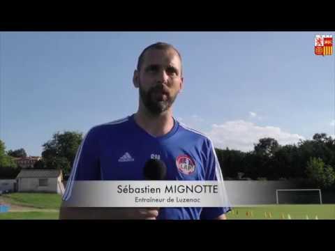 Interview - Sébastien MIGNOTTE (Entraîneur Luzenac A.P)