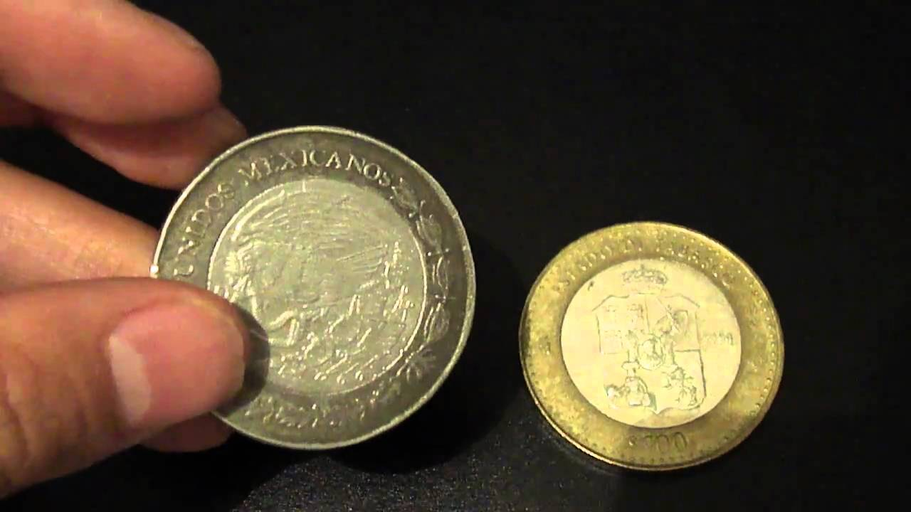 Moneda falsa de 100 pesos youtube for Cocinar con 40 pesos