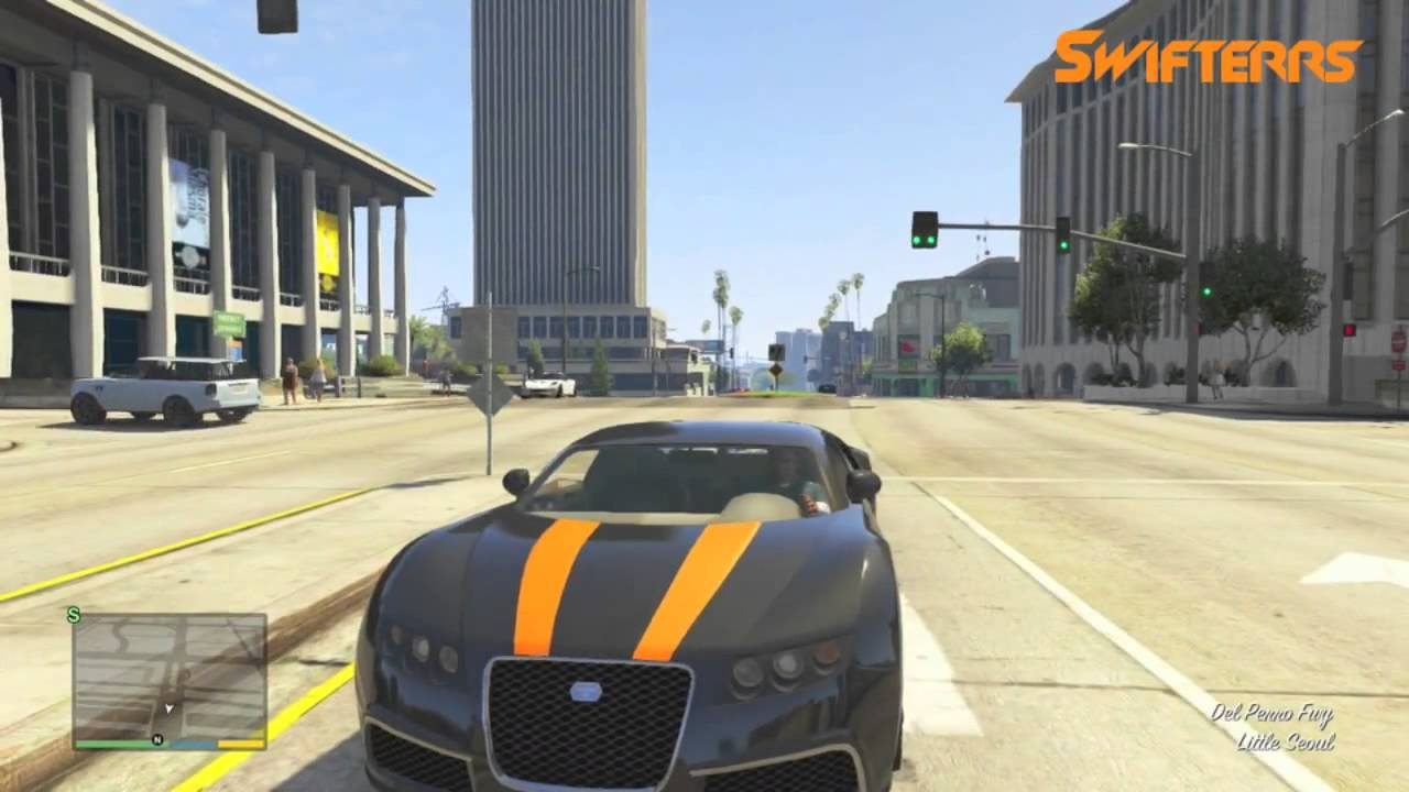 Superb GTA 5   Bugatti Veyron Secret Sports Car Location!   YouTube
