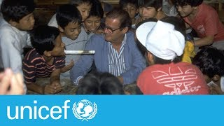 Sir Roger Moore, a champion for children I UNICEF