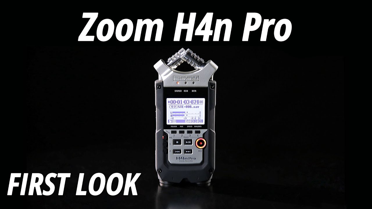 zoom zoom h4n pro handy recorder with cubase le wavelab le music production software vinyl at juno records  [ 1280 x 720 Pixel ]