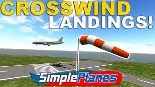 CROSSWIND P51 INCIDENT -  Simple Planes  -  Showcase