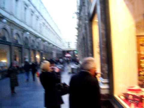 "The ""Galeries Royales Saint Hubert"" (Royal St Hubert Galleries) in Bruxelles"