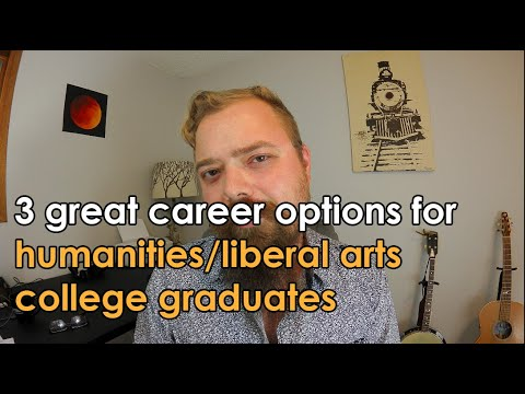 3 Career Options for Humanities and Liberal Arts College Graduates   Vlogs by Dr. Dan #11