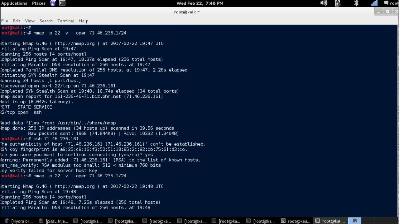 NMAP Tutorial - SSH Port Scan [Kali Linux]