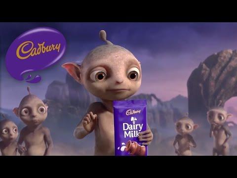 Cadbury Dairy Milk - Aliens - Canada (40 secs)