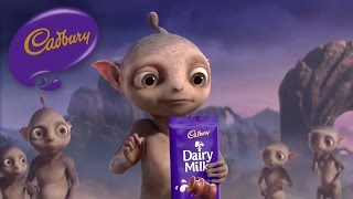 Cadbury Dairy Milk - Aliens - Canada (40 secs) thumbnail