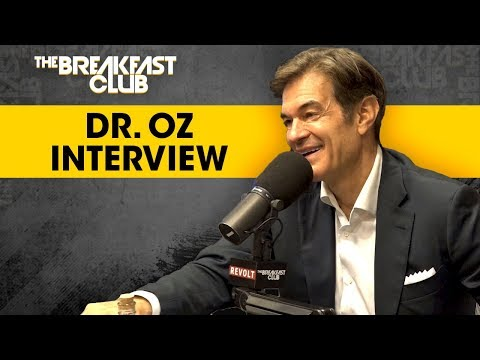 Dr. Oz Teaches The Breakfast Club CPR Techniques, Talks Season 10 Of His   More