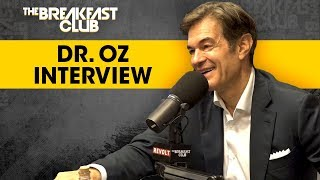 Dr. Oz Teaches The Breakfast Club CPR Techniques, Talks Season 10 Of His Show + More