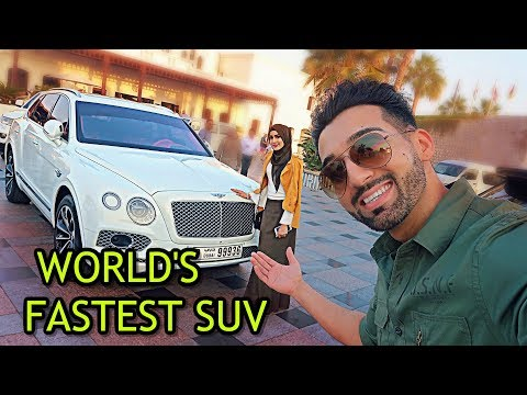 BILLIONAIRE GAVE HER THE FASTEST SUV IN THE WORLD (Bentley Bentayga!!)