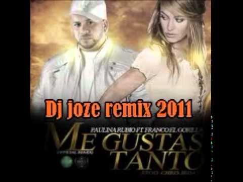 cancion me gustas tanto remix paulina rubio feat gocho