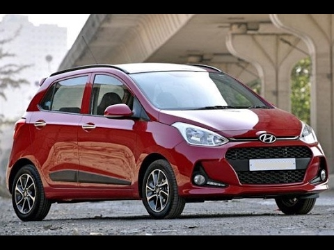 2017 hyundai grand i10 facelift first look youtube. Black Bedroom Furniture Sets. Home Design Ideas
