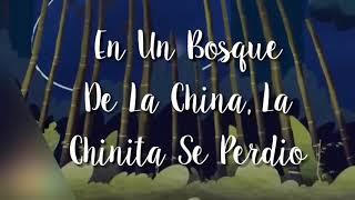 En Un Bosque De La China, La Chinita Se Perdio Letra