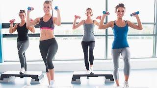 Фитнес Дэнс  Танец с Гантелями(Фитнес дэнс, танец с гантелями популярное и очень эффективное направление в фитнесе для девушек. Можно..., 2015-12-04T02:32:38.000Z)