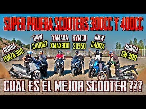 PRUEBA SCOOTERS 300CC Y 400CC !!! SI QUIERES UNA SCOOTER TIENES QUE VER ESTO!!!