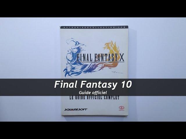 Final Fantasy 10 - Guide officiel