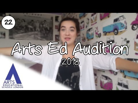 Auditioning for Drama School: My Arts Ed Audition 2018