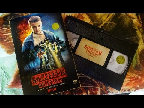 STRANGER THINGS Target Exclusive RETRO VHS Blu Ray Unboxing