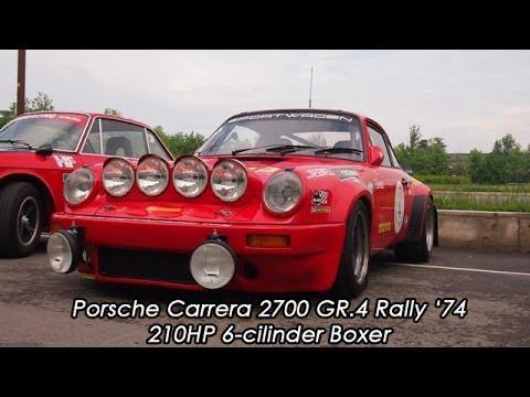 Porsche 911 Carrera 2700 Gr.4 Rally '74 Engine Revs and exhaust sound - YouTube