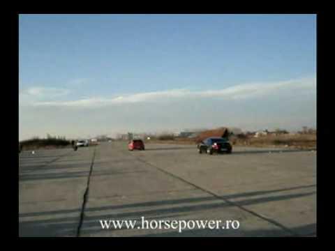 Bmw M6 stock vs Lancer EVO IX stock ... kind of su