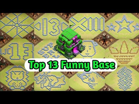 New 13 Funny Base Layout For Legend League Players Home Base + Link (TH12, TH11)
