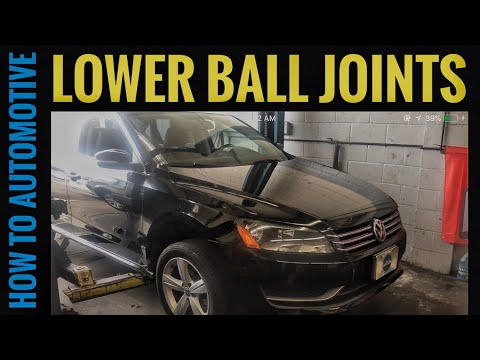How to Replace the Ball Joint on a 2005-2015 Volkswagen B6-B7 Passat