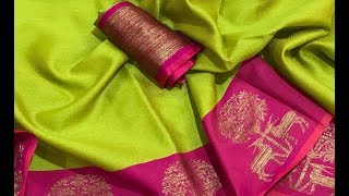 Top rich and classy looking banarasi saree collections for wholesale price