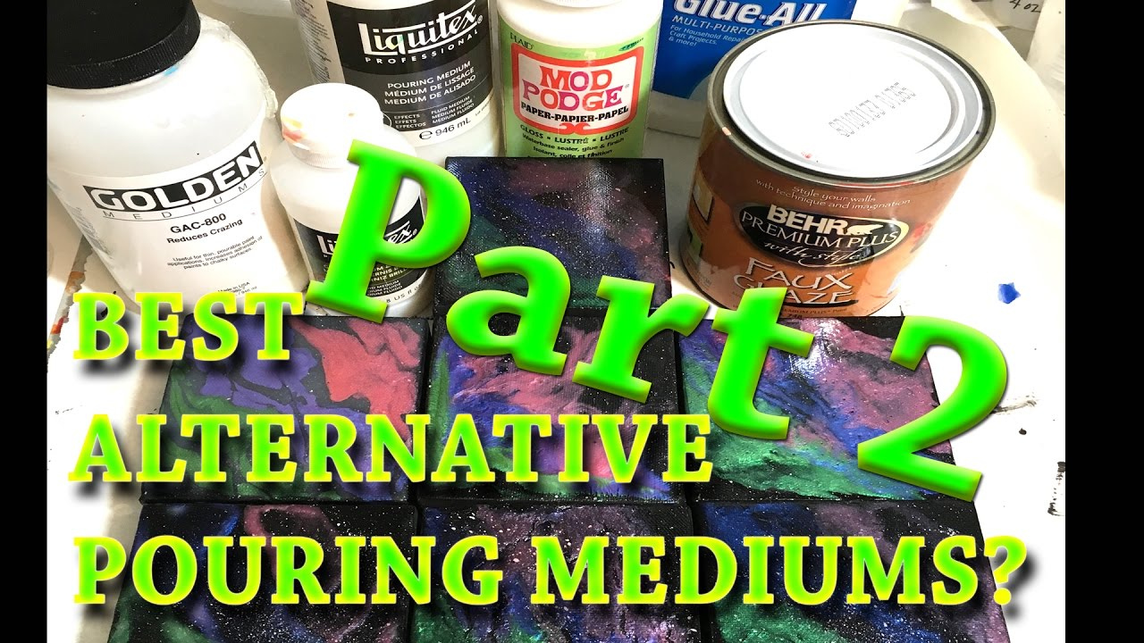 The Best Alternative To Liquitex Pouring Medium Revealed Youtube