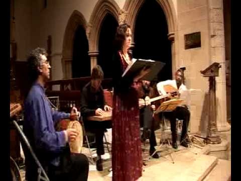 Vocalist Sara Stowe Singing A Persian Classical Song.  Http://www.oxfordimedia.com/safar.html